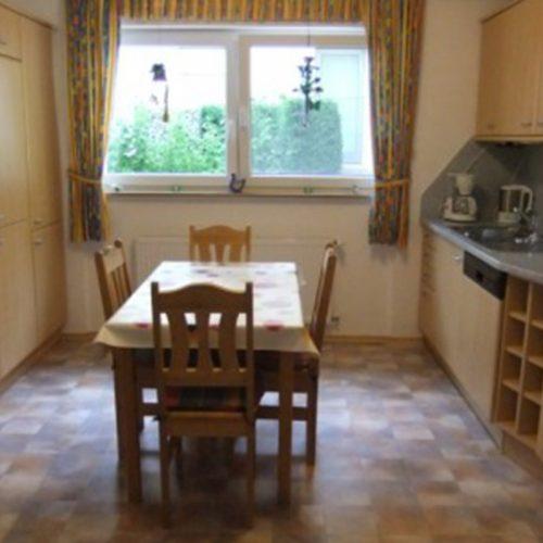 Küche von Ferienwohnung