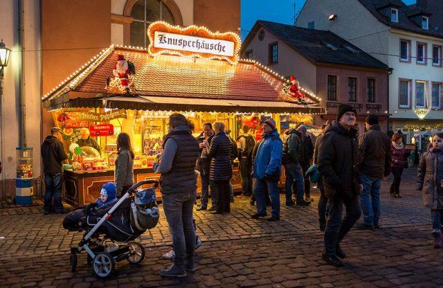 Hauptstraße Miltenberg Weihnachtsmarkt