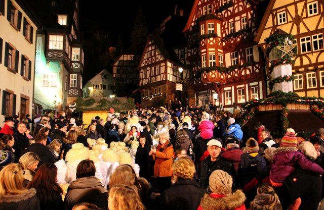 Marktplatz Miltenberg Weihnachtsmarkt