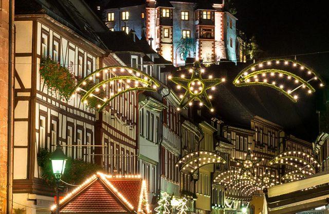 Hauptstraße Miltenberg Beleuchtung